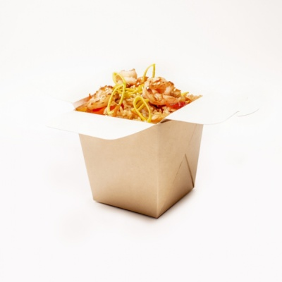 Креветка в азиатском стиле с рисом