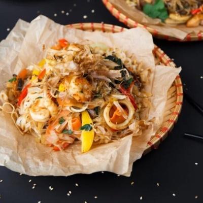 Лапша с морепродуктами «Фо Хай Сан»