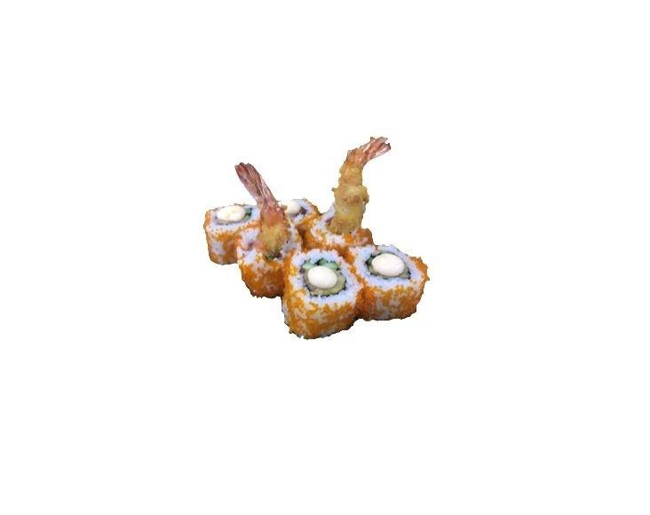 Ролл с креветкой темпура