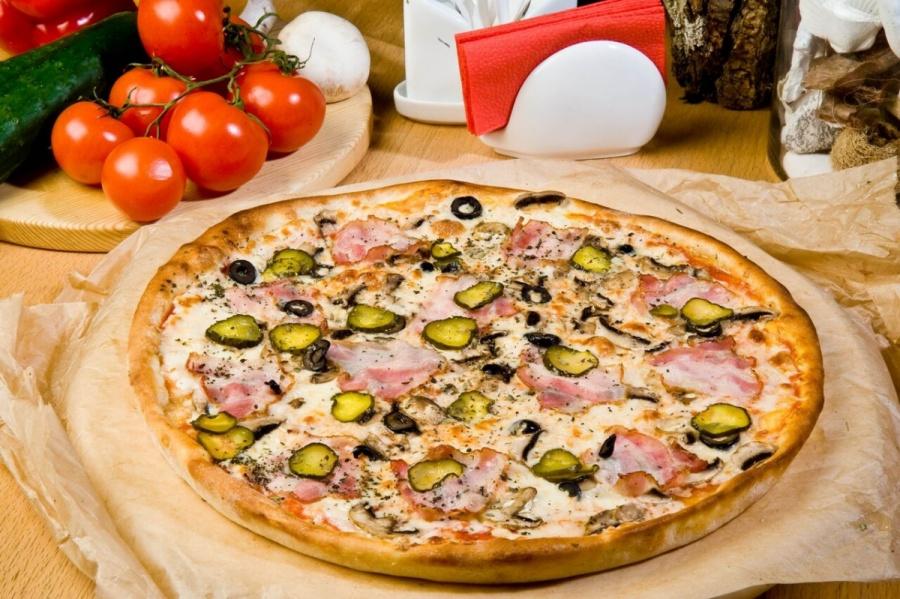 Пицца «По-домашнему»