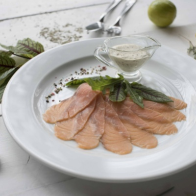 Карпаччо из лосося