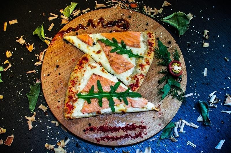 Лосось Live пицца