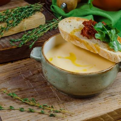Сливочно-сырный суп