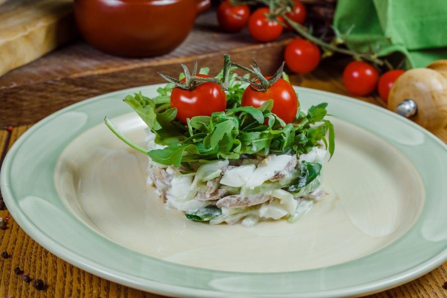 Фирменный бабушкин салат