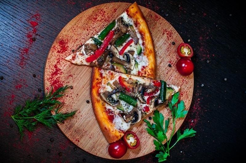 Веган пицца