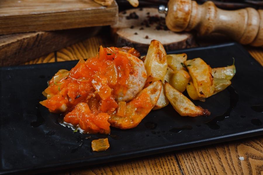 Косталета из трески с картофелем аросто