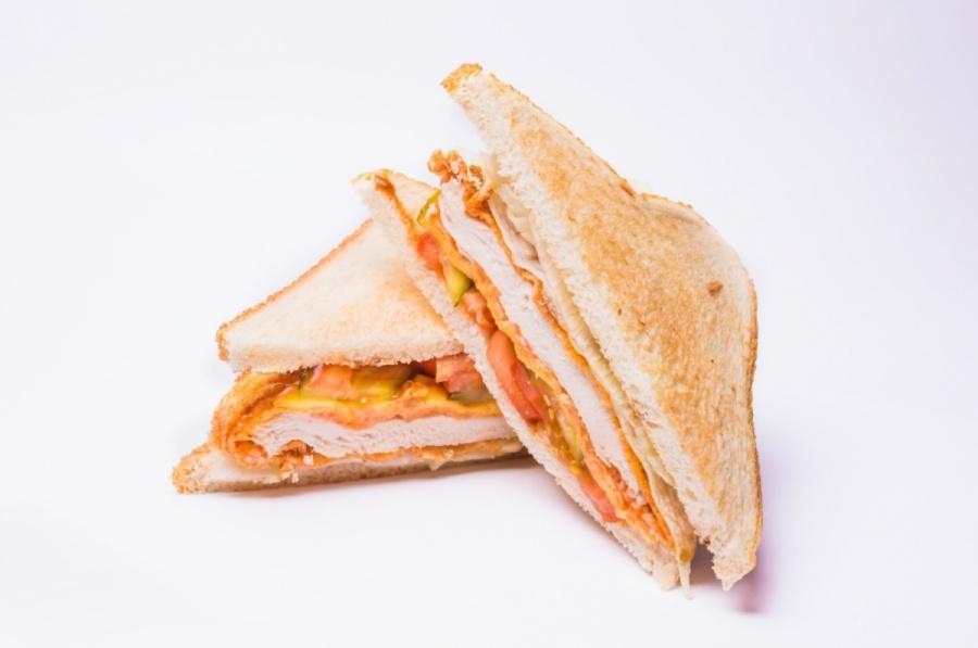 Сендвич с куриным филе