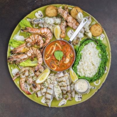 Сет морепродуктов