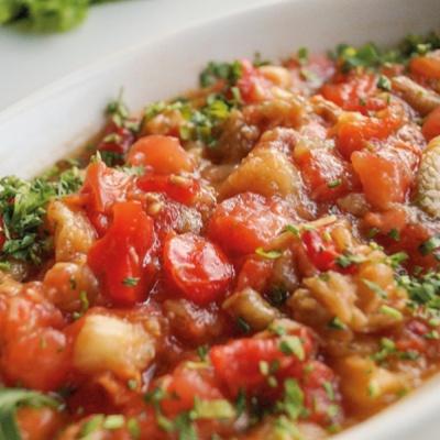 Овощной салат гриль
