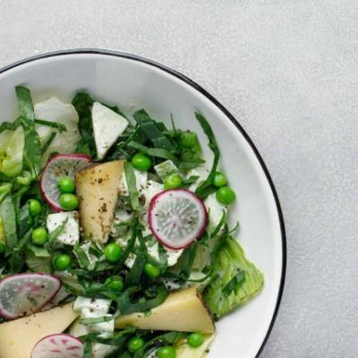 Салат из сыра Качотта