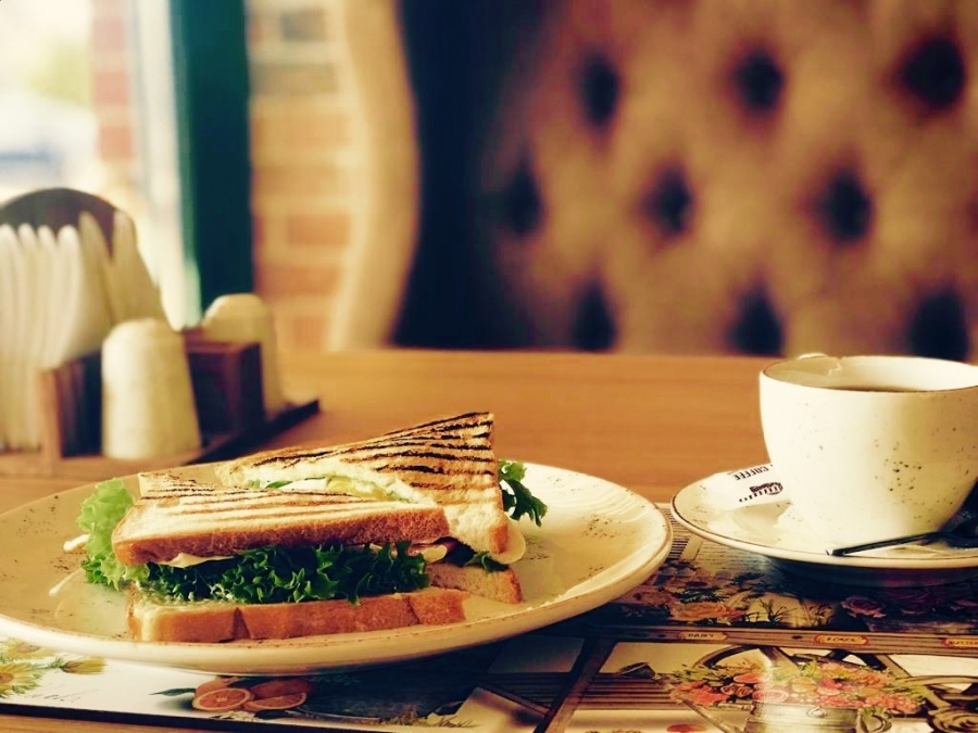 Клаб сендвич с яйцом